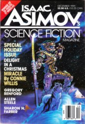 Isaac Asimov's Science Fiction, December 1991