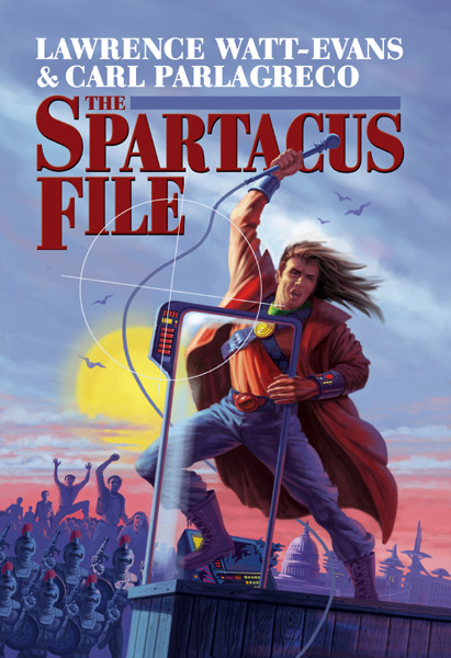 Cover art for The Spartacus File