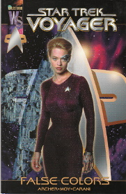 Star Trek Voyager:  False Colors (photo cover)