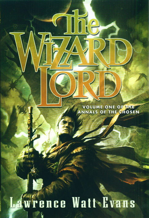 The cover of The Wizard Lord