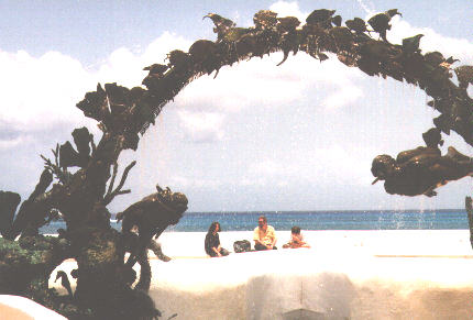 The Fountain at Cozumel