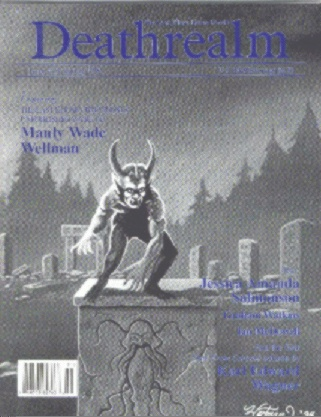 Cover of Deathrealm 23