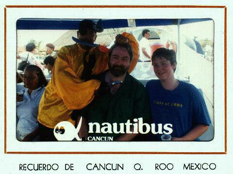 Julian and Lawrence on the Nautibus