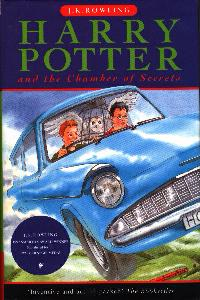 Click to see the cover of HARRY POTTER AND THE CHAMBER OF SECRETS full-size