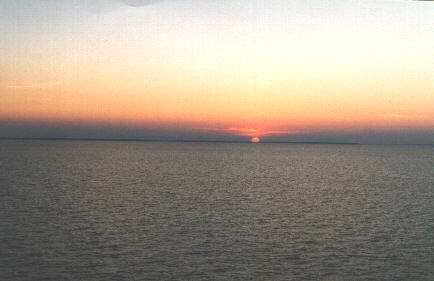 Sunset over the Chesapeake