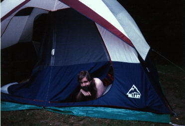 Me in the big tent