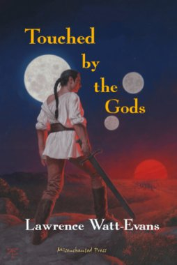 Cover of Touched by the Gods